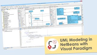 perform uml modeling in netbeans with visual paradigm - Visual Paradigm Viewer