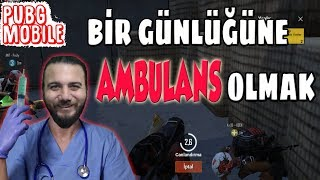AMBULANS OLDUM! PUBG Mobile Komik Anlar Gameplay #patiyapsın