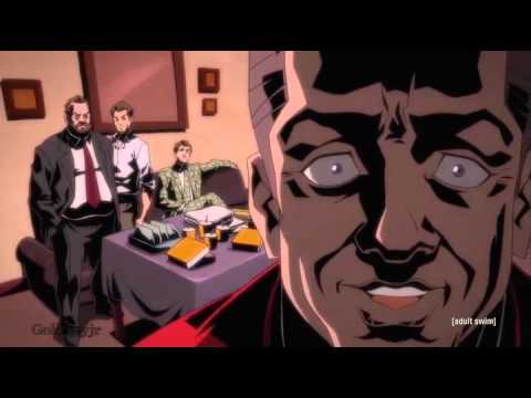 Black Dynamite Mr Rodgers  Wocka Floca Cartoon Scene