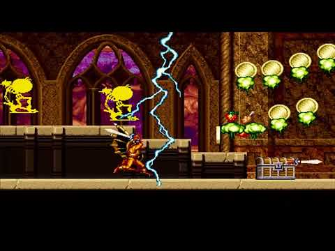 magic sword gameplay (part two) -enhanced graphics-