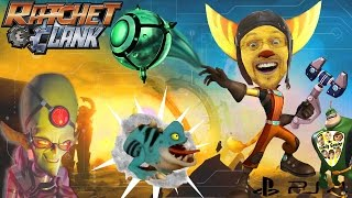 Lets Play RATCHET & CLANK #1: I'm a Bomber Man Lombax! (FGTEEV PS4 2016 Movie Gameplay)