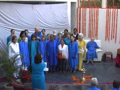 Dihika Living Wisdom School Dedication - Choir - Feb 21, 2010