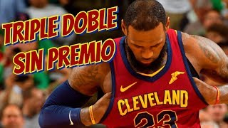 EL REY LEBRON ESTÁ SOLO - NBA PLAYOFFS 2018