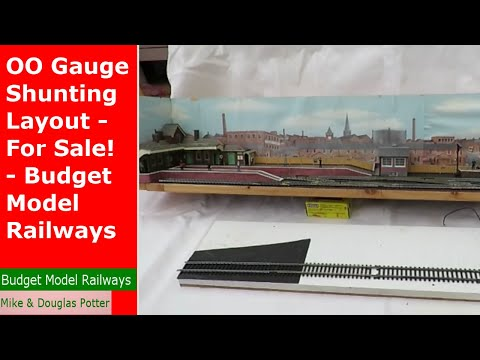 OO Gauge Shunting Layout – For Sale! – Budget Model Railways