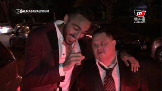 كهربا وجنش يصطحبان «أمح» فى حفل زفاف «تريزيجيه».. واستقبال حافل من لاعبي الأهلي
