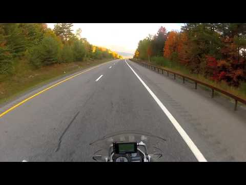 Adirondack Northway in Fall 2