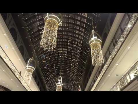 Mall of berlin (von innen und außen)   weihnachtsbeleuchtung und ...
