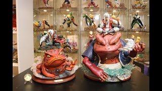 Naruto, MP Studio Jiraiya Resin Statue Unboxing.
