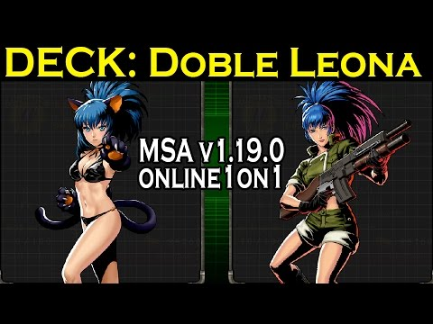 METAL SLUG ATTACK ONLINE 1ON1 #08 - DOBLE LEONA.