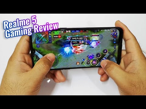 Realme 5 Gaming Review (FPS Test)