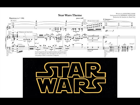 "[1/7] ""Main Theme/Imperial Attack"" - Star Wars IV: A New Hope (Score Reduction & Analysis)"