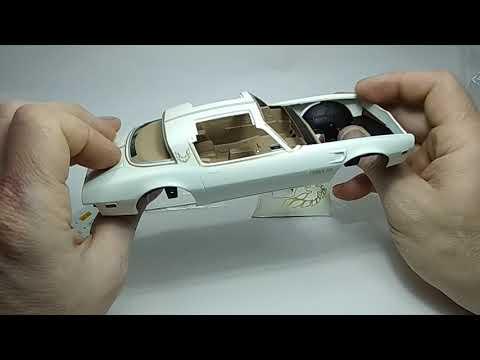 AMT 1:25  1978 Pontiac trans am  Review