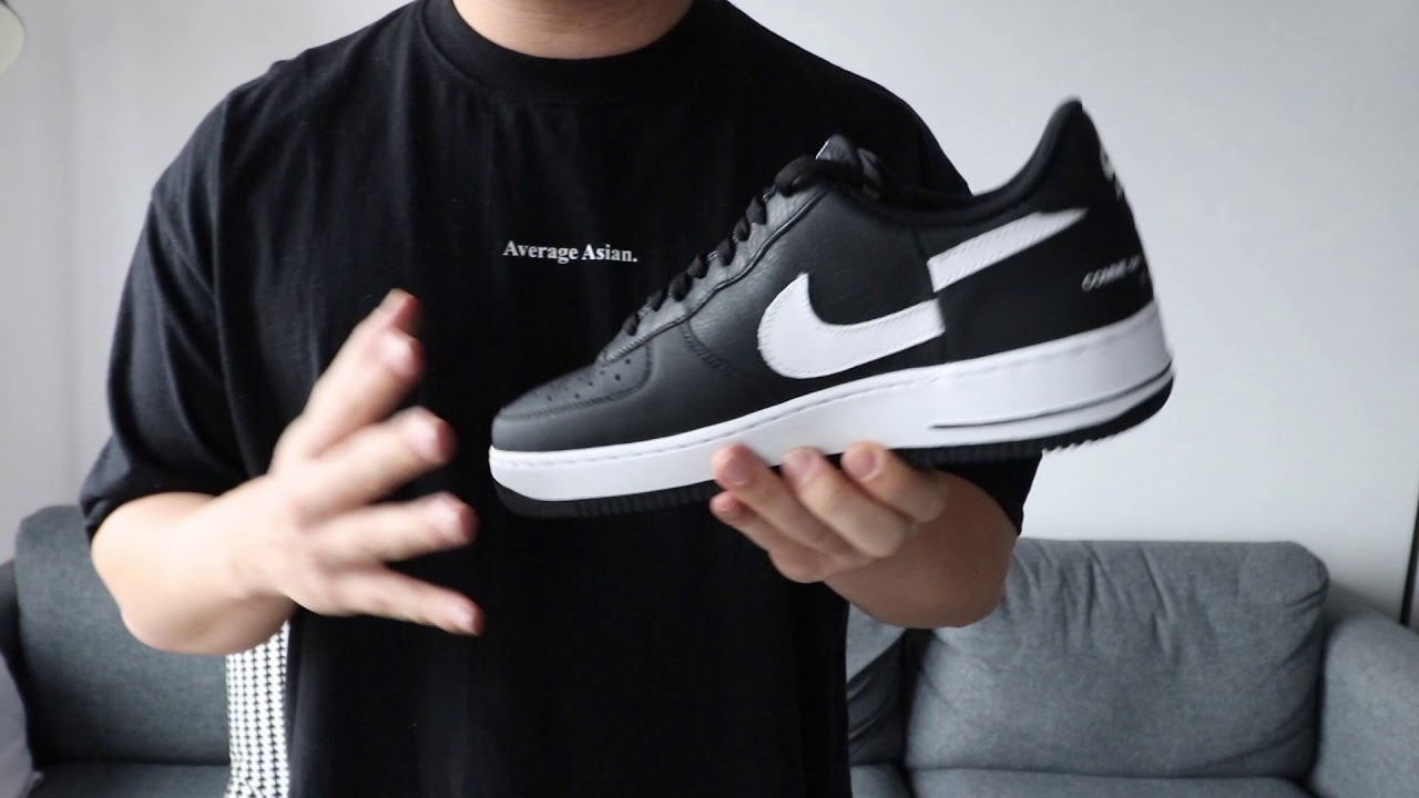 promo code df716 72520 REVIEW: NIKE AIR FORCE 1 x SUPREME x COMME des GARCONS (CDG)