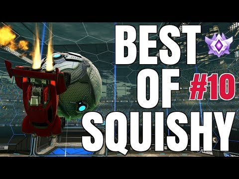 BEST OF C9 SQUISHY | INSANE AIR DRIBBLES, DOUBLE TAPS, FLIP RESETS, REDIRECTS AND MORE! | #10
