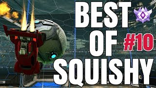 BEST OF C9 SQUISHY   INSANE AIR DRIBBLES, DOUBLE TAPS, FLIP RESETS, REDIRECTS AND MORE!   #10