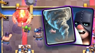 Clash Royale - EXECUTIONER TORNADO! Best Card Combo