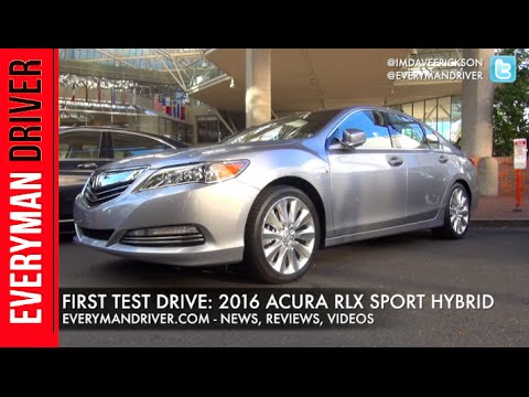 2016 Acura RLX Sport Hybrid On Everyman Driver (First Drive Review)