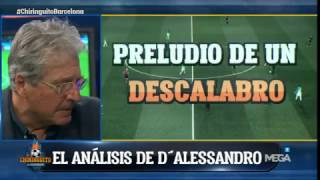 El análisis del PSG-Barça, por D'Alessandro