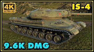 World of Tanks | IS-4 - 7 Kills - 9,6K Damage Gameplay