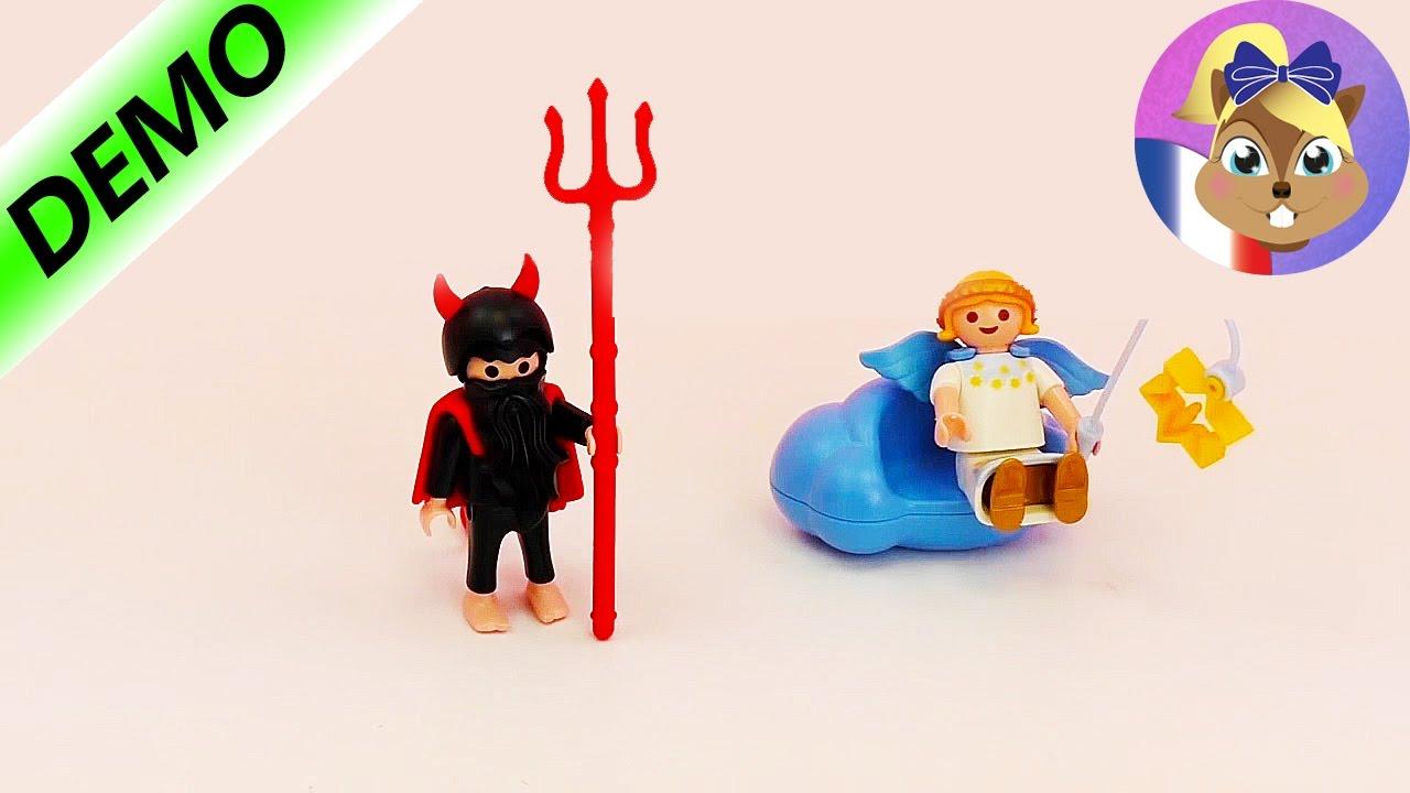 playmobil l ange et le diable jouet angelot et petit diable youtube. Black Bedroom Furniture Sets. Home Design Ideas