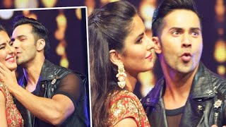 Katrina Kaif KISSES Varun Dhawan on stage @ Dream Team Concert 2016