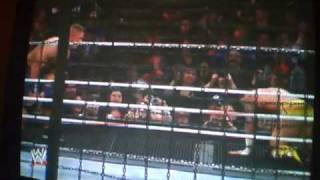 WWE elimination chamber 2011 raw elimination chamber part 3