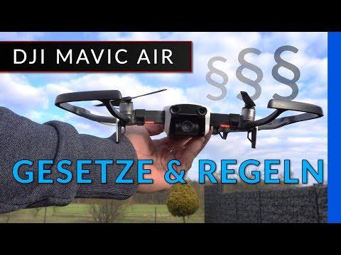 Dji Mavic Air: Drohnen-Gesetze - Regeln - Verbote und Kennzeichen [ deutsch / Deutschland ]
