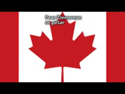 O Canada instrumental on classical guitar Canadian National Anthem arranged  by Dean Zimmerman
