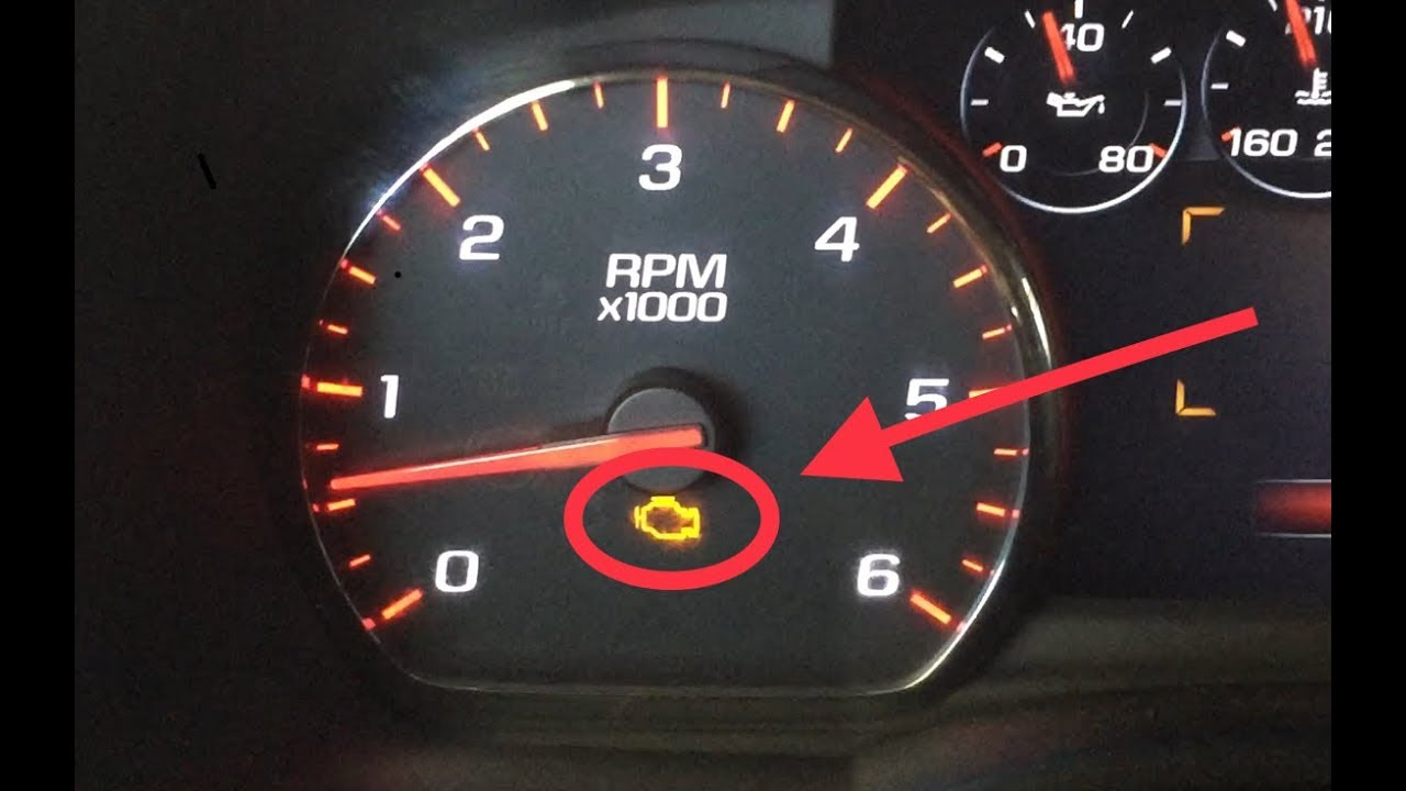Check Engine Light On And Off >> How To Turn Off Check Engine Light Yukon Tahoe Suburban Escalade All Cars