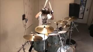 ただのサラリーマンが好きな曲のドラムを出来る限りやってみました。 ん...