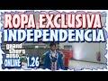 GTA 5 ONLINE 1.26 - CONSEGUIR ROPA EXCLUSIVA DLC INDEPENDENCIA - TODAS LAS CONSOLAS