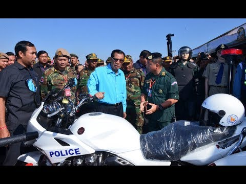 2018-01-13 PM Hun Sen Attends Military Sports Competition and Exhibition