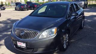 Pre Owned 2013 Buick Verano Sedan Grey Oshawa ON Stock #180777B