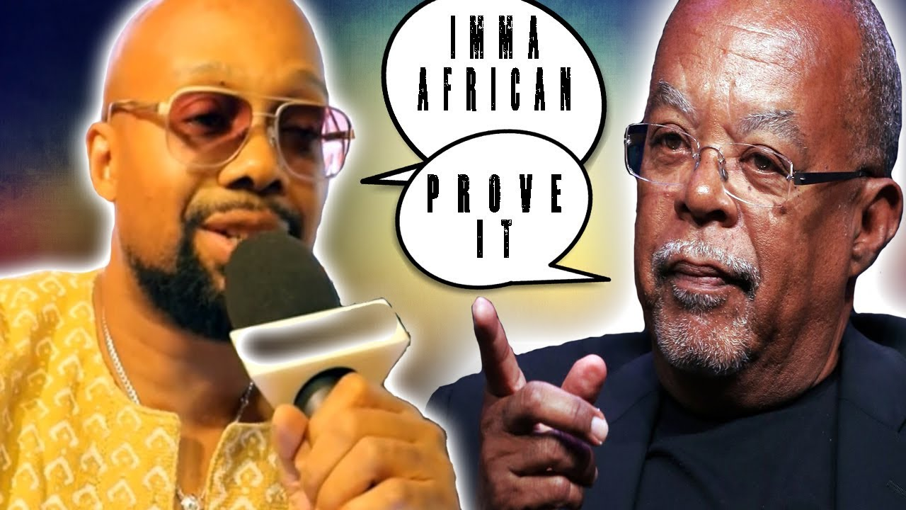 Jabari Osaze Exposed And Debunked By Henry Louis Gates Jr. (WATCH TIL THE END!)