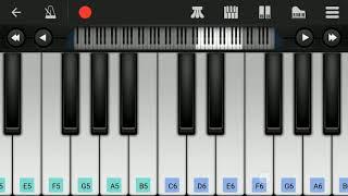 Kanave kanave   David   Easy piano Tutorial   Perfect piano   Anirudh Ravichander