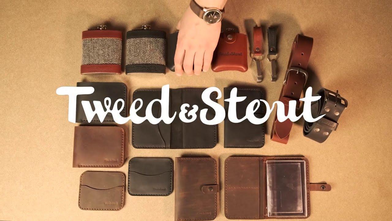 Tweed & Stout Handcrafted Leather Goods / Кожаные изделия ручной работы от Tweed & Stout