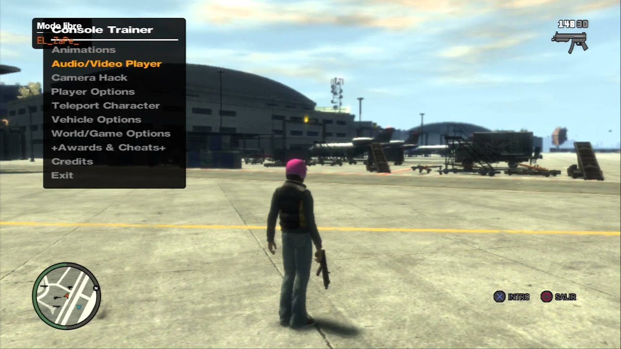 Release] >PS3/XBOX360< GTA IV : The Pink House Mod Menu