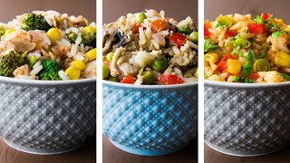 3 Healthy Rice Recipes For Weight Loss