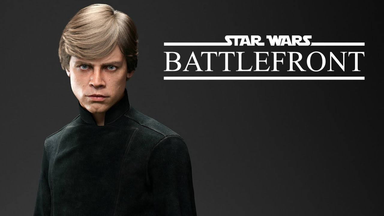 Star Wars Battlefront Jogando Com O Luke Skywalker Youtube