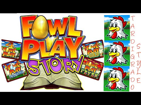 Slot da Bar - Fowl Play Story - Bonus Gallina 4 Schermi