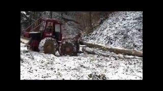 Kockums 822 (lkt mtz Ciagnik leśny Sumski traktor debardage Skogsmaskiner Knickschlepper Logging  )