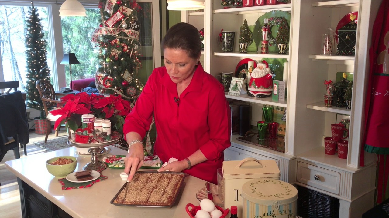 Valerie Parr Hill Mother S English Cookies Recipe Youtube