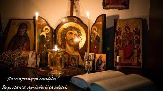 De ce aprindem candela Importanta aprinderii candelei.( BibliaAudio)
