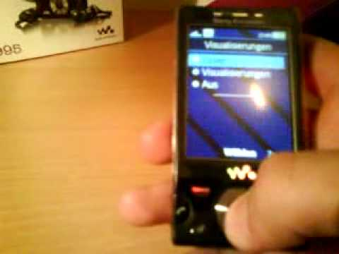 Sony Ericsson W995 Player
