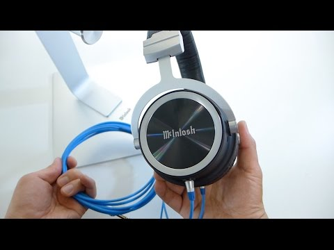 NEW! McIntosh MHP1000 Audiophile Headphones Unboxing