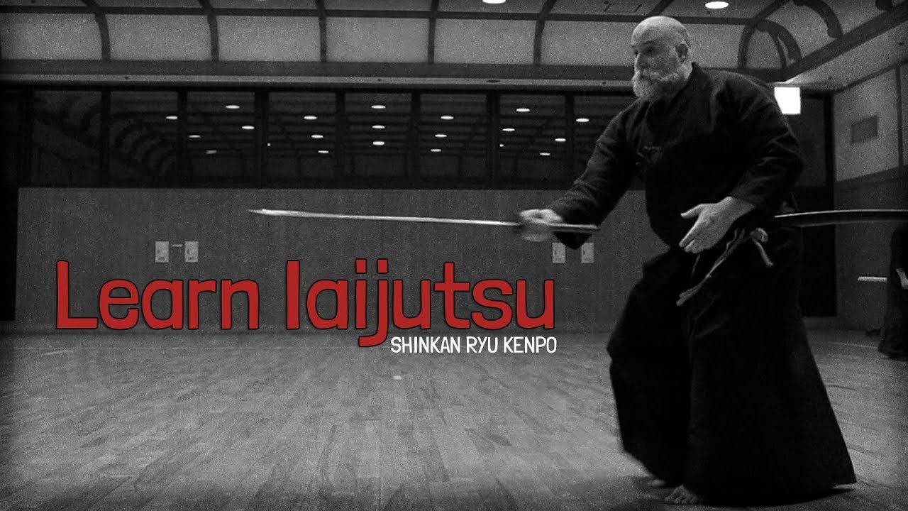 68dbd7fe09f80 Learning Iaijutsu Classical Japanese Sword Demonstration Shinkan-ryu Kenpo