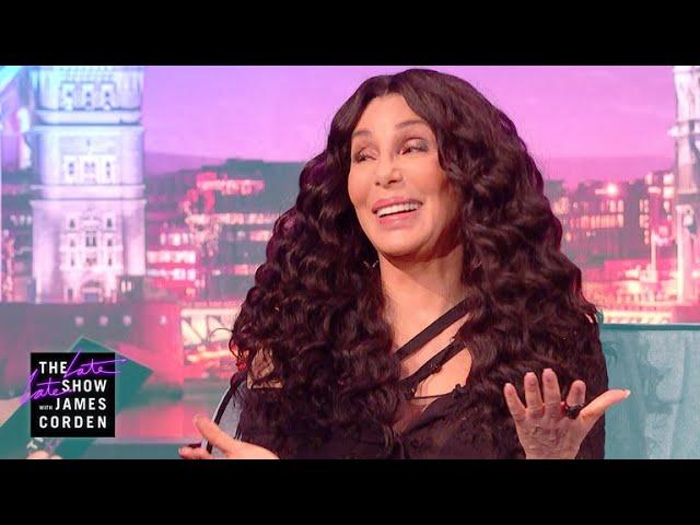 Cher & Meryl Streep Once Saved a Woman In Distress  #LateLateLondon