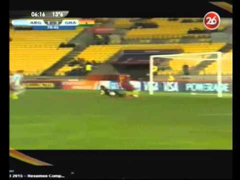 Canal 26 -Sub 20: Argentina perdió con Ghana y quedó complicada