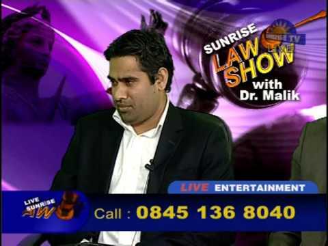 Dr Malik Law Show 22nd July 2012