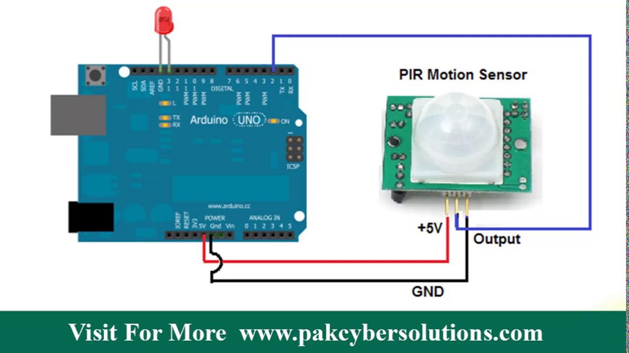 Circuit Magic Pir Sensor - Data Wiring Diagrams •